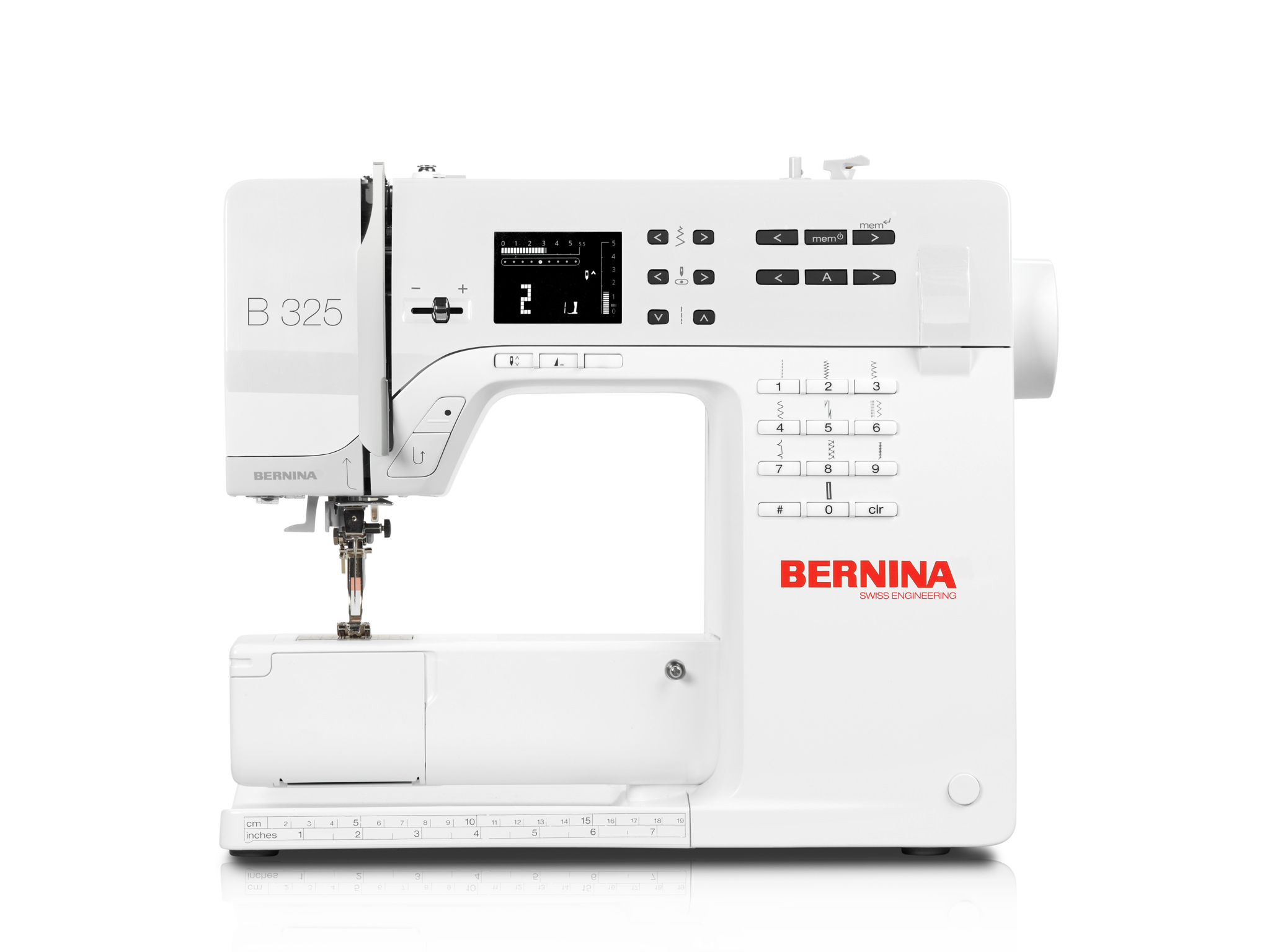 Click to Enlarge Bernina 325 Sewing Machine
