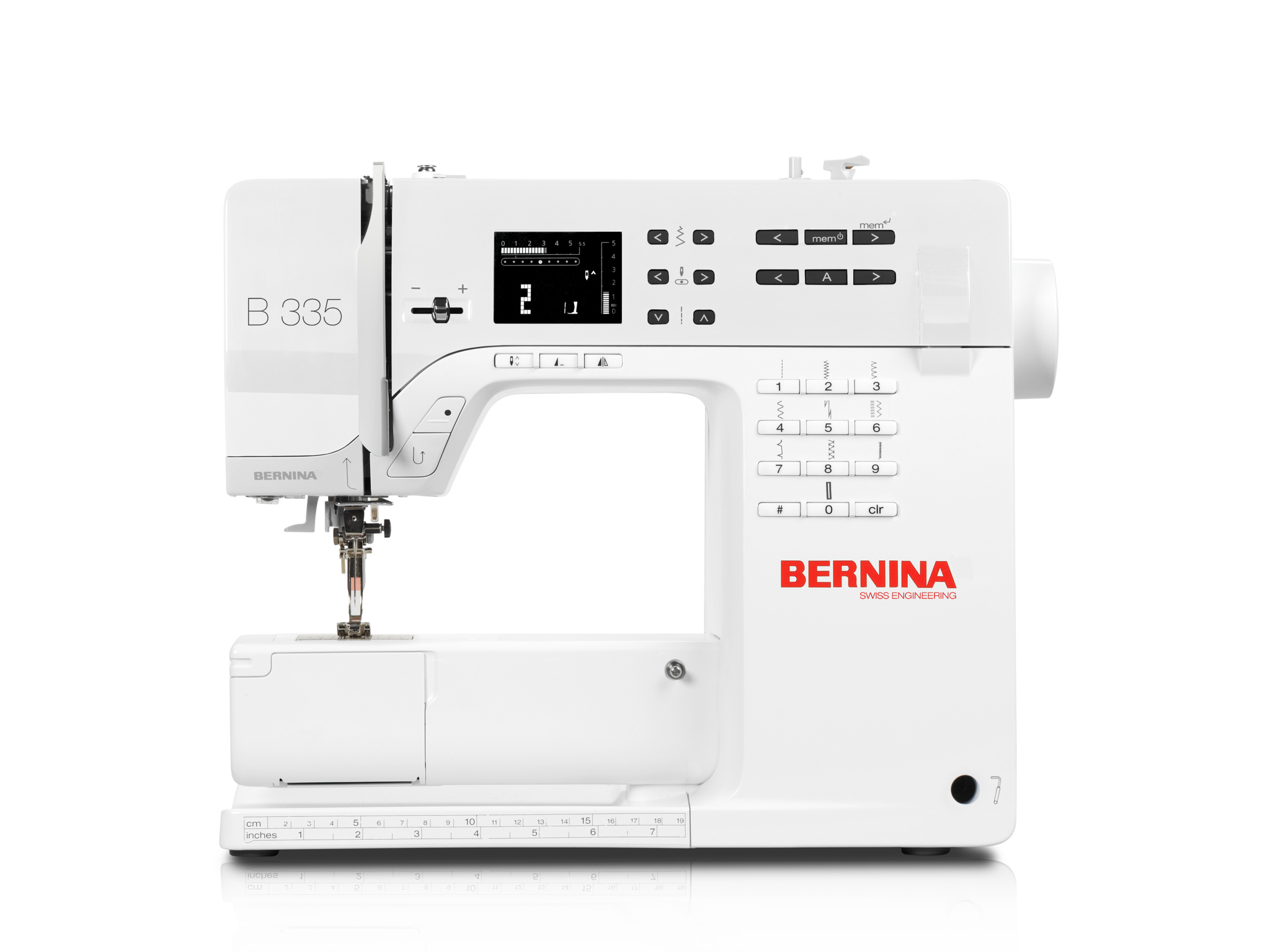 Click to enlarge Bernina 335 Sewing Machine