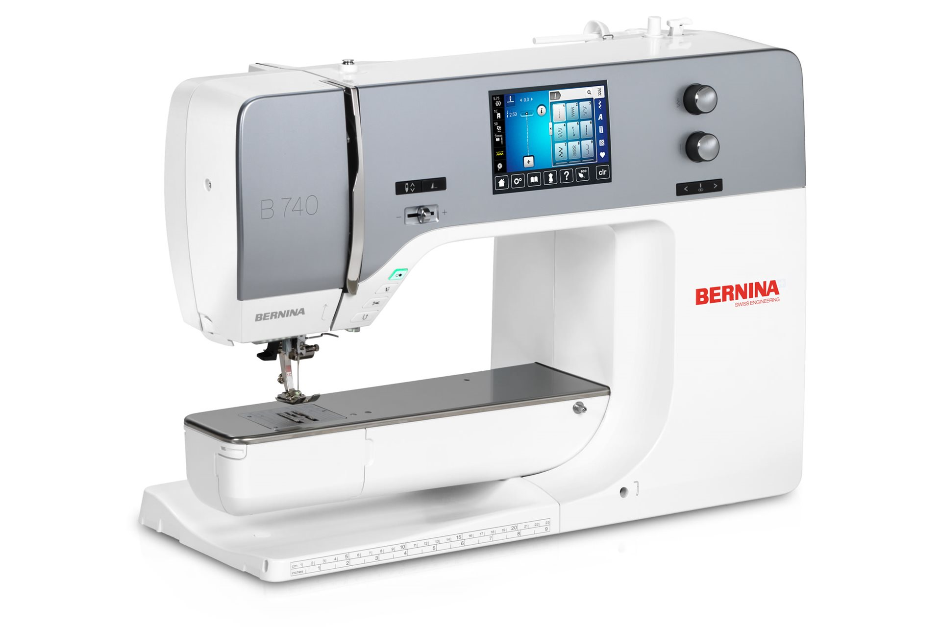 Click to enlarge Bernina 740 Sewing Machine