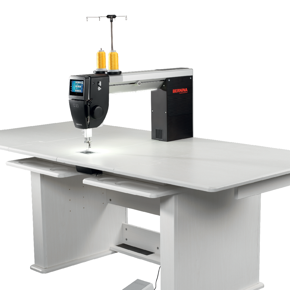 Click to enlarge Bernina Q20 Quilting Long Arm